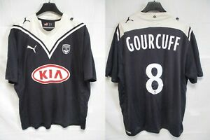 Maillot GIRONDINS de BORDEAUX 2010 GOURCUFF n°8 PUMA shirt trikot vintage L
