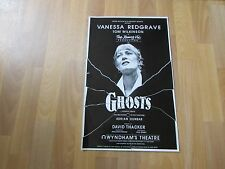 Vanessa REDGRAVE & Tom WILKINSON in GHOSTS Original WYNDHAMS Theatre Poster