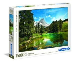 Clementoni 31680 Blue Lake 1500 Teile Puzzle High Quality Collection