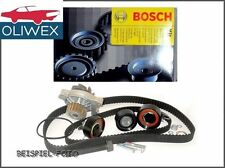 BOSCH Zahnriemensatz Satz Kit + BOSCH Wasserpumpe 1987946438 für AUDI VW 1.6