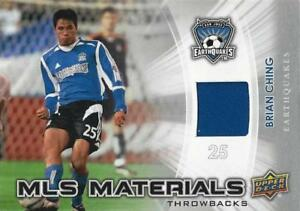 2012 Upper Deck Major League Soccer 'MLS Materials Throwbacks' Cards - Relic