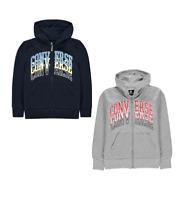 Promotion Veste zippée  à capuche garçon de marque Converse du 8 au 15 ans