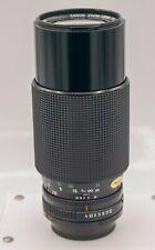 Canon FD 70-210mm F4.0 Zoom Lens AE-1 Program A-1 F-1 SLR/Mirrorless Cameras