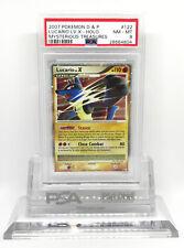Pokemon Mysterious Treasures Lucario Lv. X 122/123 Ultra Rare Holo Foil PSA 8 NM