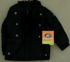 Athletech XS 4/5 Water Resistant Hooded Insulated Girl'sJacket, BRAND NEW W/TAGS