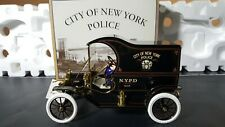 Gearbox Collectible 1912 Ford Model T Delivery Truck - NYPD Paddy Wagon Nice!