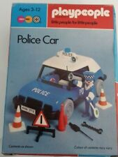 Playmobil Playpeople Police Car set 1757 Boxed Vintage Police Bobby Figure