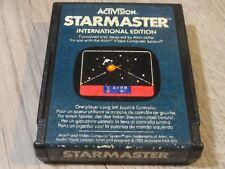 STAR MASTER STARMASTER ATARI 2600 7800
