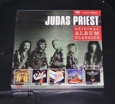 Judas Priest ORIGINAL ALBUM CLASSICS 5 Disc Set CD SPEDIZIONE VELOCE NUOVO & OVP