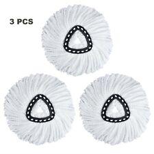 3 PCS Triangle Mop Head Refill for O-Cedar EasyWring Microfiber Spin Mop Head