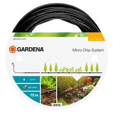 Gardena Micro-Drip Sistema Above-Ground Irrigación Línea, Planta Filas - 4.6mm,