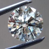 0.05 Ct Natural Rare Diamond Loose Round Brilliant Cut VVS2 Clarity E Color A+