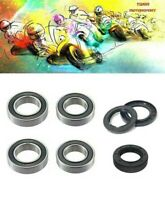 Genuine Yamaha DT125R DTR125 Front & Rear Wheel Bearings And Seals 88-03
