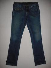 G-Star Raw Reese Straight Fit - Ladies Blue Denim Jeans - Waist 28 Leg 34