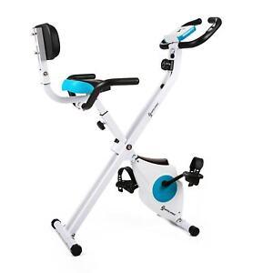 Velo D'Appartement Pliable Klarfit Ergometre Cardio Training Fitness Pulsometre