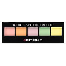 City Colour Color Correct & Perfect 5 Shade Multi-Tone Cream Concealer Palette