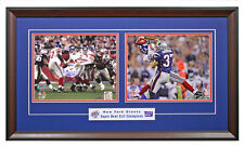 New York Giants Eli Manning and David Tyree 2 8x10 Photos  From Super Bowl 42