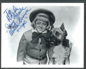 Jerry Maren - Signed Vintage Celebrity Autograph Photo - Buster Brown Wizard of