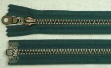 Opti  Reißverschluss teilbar Dekorzacken 80 cm dunkelgrün