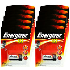 10 x Energizer Lithium CR123 batteries 3V 123A CR17345 EL123 Photo Camera EX2026