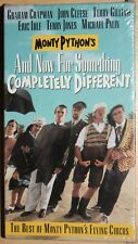 Monty Python's AND NOW FOR SOMETHING COMPLETELY DIFFERENT (vhs) Brand NEW. Rare
