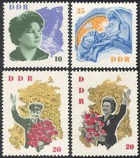 Alemania 1963 Gagarin/Tereshkova/espacio/Astronautas/personas/transporte 4 V Set n43927