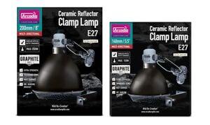 Arcadia Ceramic Reflector Clamp Lamp Holder -  Basking Light Dome Tortoise