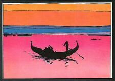 Moebius : Venezia Celeste, La Gondola - cartolina nuova e perfetta del 1984