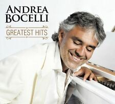 2016  ANDREA BOCELLI Greatest Hits 2016 2CD set in DigiPak factory sealed!