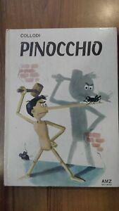 Collodi Le avventure di PINOCCHIO Bodini 1° ed AMZ 1967 grandi libri delle fiabe