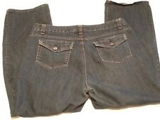 "Croft & Barrow Stretch Blue Jeans - Size 16 Short - 36-38"" x 28.5"""