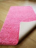 New Shaggy Machine Washable Non Slip Large Small Bathroom Mat Circular Rugs