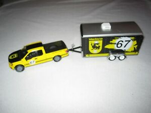 Greenlight Hitch & Tow 2015 Ford F-150 and Enclosed Car Trailer
