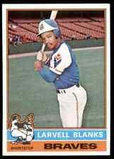 1976 TOPPS LARVELL BLANKS #127 MINT ULTRA HI-GRADE SET BREAK BLR5A1