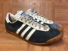 VNTG🔥 Adidas Varsity Trainers Vintage Men's Running Shoes Size 8 Worn Aged