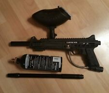Tippmann U.S. Army Carver One Paintball Marker with Extras, Great Shape!