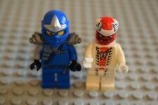 Lego 2 x Minifigures Ninjago njo047 Jay ZX - with Armor njo035 Snappa