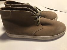 American eagleAEOo Men's Suede  Taupe Lace Up Casual Boots Shoes Sz 11
