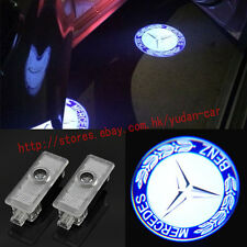2x LED Benz 3D Logo door welcome Projector light For Mercedes-Benz CLS CLA C207