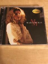 Maria McKee Ultimate Collection CD Hip-O  Select Lone Justice VG Condition