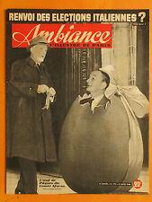 Ambiance l'illustré de Paris 172 du 31/3/1948-L'oeuf du Comte Sforza-Karen Lewis