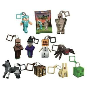 Minecraft Backpack Hangers Series 3, Surprise Keyring, New & Sealed