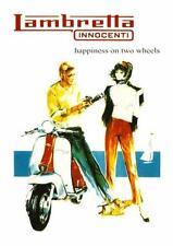 Lambretta Moped POSTER  **LARGE** Promo Ad 60's MOD biker cycle Vespa