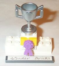 Lego Trophy Cup Award Ribbon 3189 Friends Racer