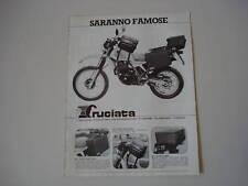 advertising Pubblicità 1984 HONDA XL 500 R e CRUCIATA