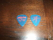 Motley Crue Vince Neil Feelgood Clear Blue Red Ink Guitar Pick