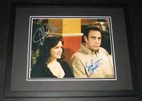 Til Death Cast Signed Framed 8x10 Photo Brad Garrett & Joely Fisher