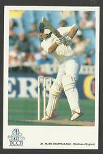 Mark Ramprakash (England) Official Tccb Cricket Postcard No. 24