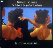 CD Gaetano Donizetti-ONU Italie a paris, Duos & Myrtille, les filles