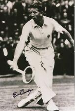 Don Budge † 2000  USA   Tennis  30 x 20 cm  Foto original signiert 403010